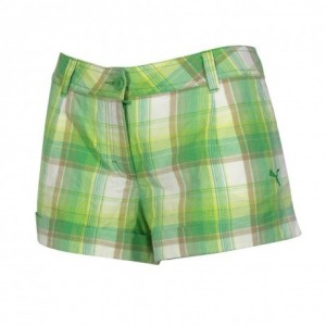 puma-women-s-shorts-green