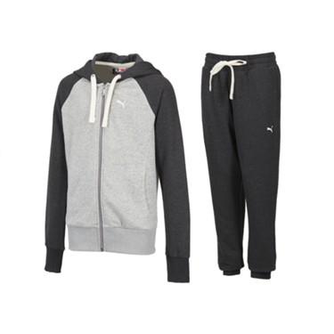 Súprava PUMA Sweat suit - šedá - MiMa Sport 79a28f03440