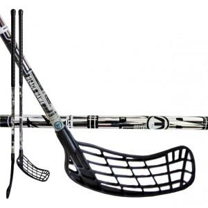 florbalova hokejka mps black hawk strieborna