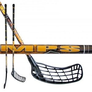 florbalova hokejka mps wildstick yellow-black