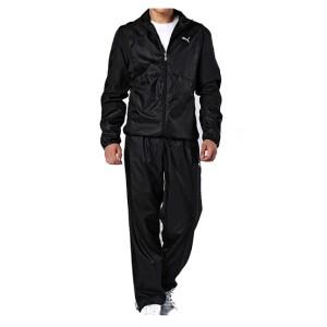 woven suit black
