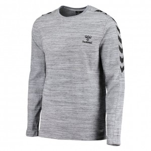 hummel-long-sleeve-shirt-classic-bee-willum-ls-tee-grau