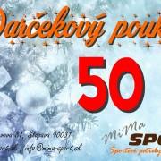 poukaz - 50